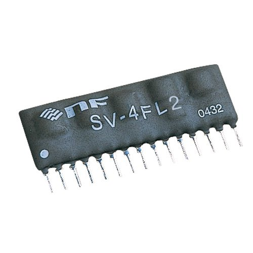NF Corp. Resistor Tunable Filter SV-4FL2, Low Pass filter by NF