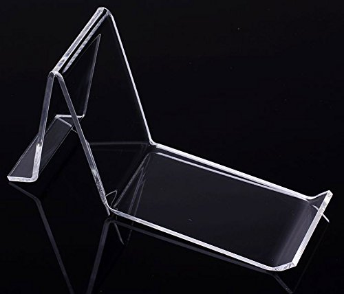 ((10units/lot) Countertop Clear Acrylic Perspex Shoe Displays & Stands (Without Shoe))