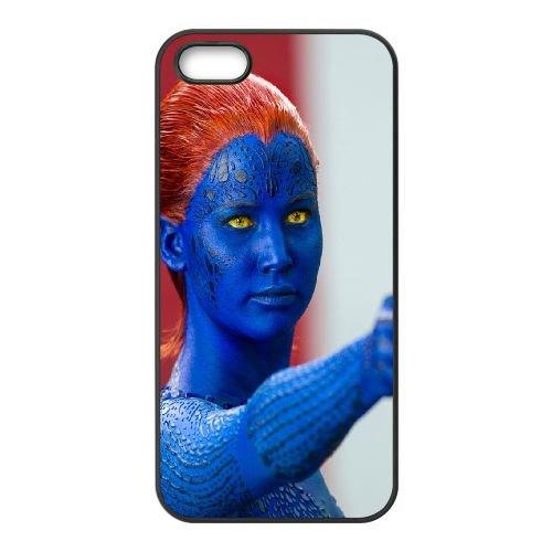 901 Mystique K coque iPhone 5 5S cellulaire cas coque de téléphone cas téléphone cellulaire noir couvercle EOKXLLNCD21150