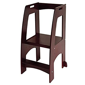Kids Kitchen Step Stool 2 Step up Toddler Household Helper 200 Lb. Load Capacity (  sc 1 st  Amazon.com : step up stool for toddlers - islam-shia.org