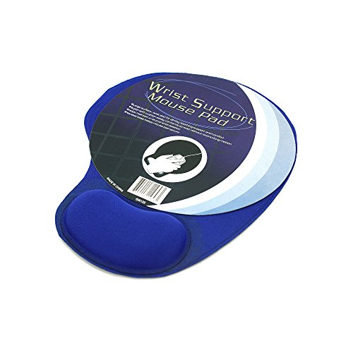 Mouse Pad With Cushion Wrist Support -  Bulk Buys, 0073101511956