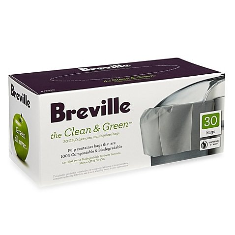 Breville the Clean & Green 30-Count Juicer Bags for sale  Delivered anywhere in USA