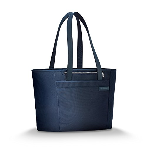 Briggs & Riley Baseline Large Shopping Travel Tote, Navy, One Size by Briggs & Riley