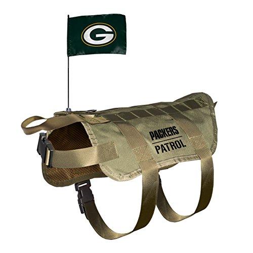 NFL Green Bay Packers Pet Tactical Vest, XL/Big Dog ()