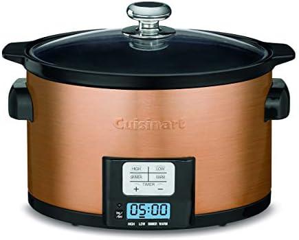 Cuisinart PSC-350CPP 3.5 Quart Programmable Slow Cooker, Copper