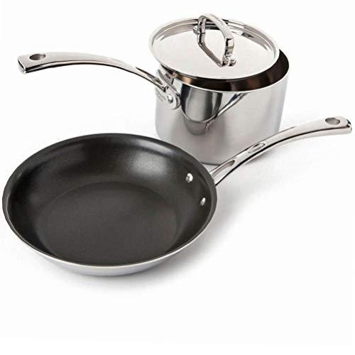 Cuisinart Classic Stainless 2-Piece Cookware Set