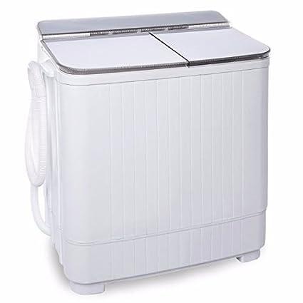 Generic e Lavado Pequeño Compacto Portátil Compacto Twin Tub Wash ...