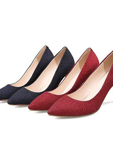 B¨¢sico Tacones 2 Rojo Tacones 3 2in 2in 2 Negro Noche Pump Fiesta Mujer 4in 3 y red 4in Puntiagudos ZQ black boda Boda Vestido Zapatos de gTYqYI