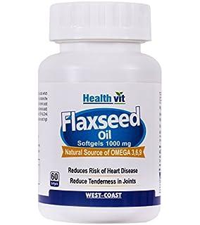 Healthvit Cold-Pressed Flaxseed oil