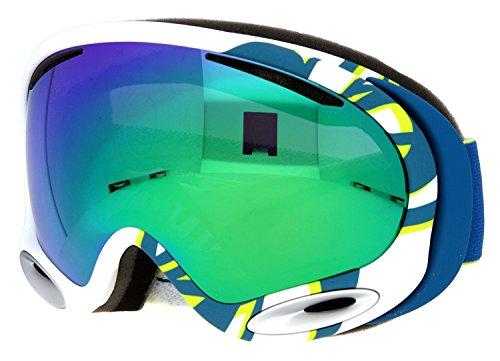 Oakley A-Frame 2.0 Smoke Rings Ski Goggles, Lime/Jade - Sunglasses Oakley Bulk