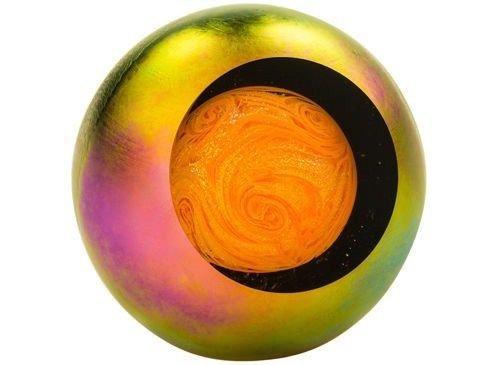 Sun 3'' Glass Orb with Keepsake Box by Glass Eye Studio