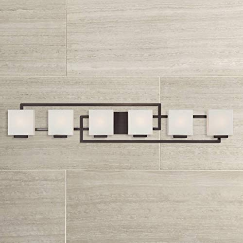 Lighting on The Square Modern Wall Light Bronze 45
