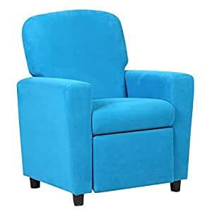 Costzon Sofá reclinable para niños, sillón de Ante ...