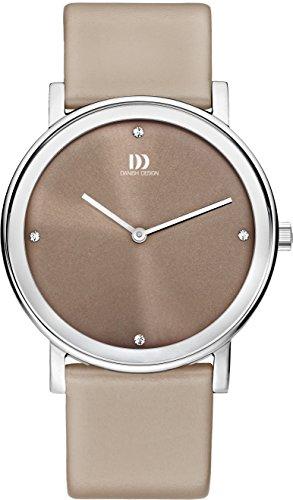 Danish Design IQ14Q1042 Stainless Steel Case Leather Strap Men's Watch