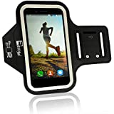 Samsung Galaxy S7 Armband. Premium Phone Arm Holder for Running, Gym Workouts & Exercise (Small - Large Arms)