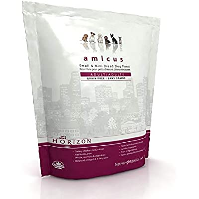 Horizon Amicus All Life Stage Food for Dogs Specifically Formulated, Grain Free Diet for Mini and Small Breed Dogs
