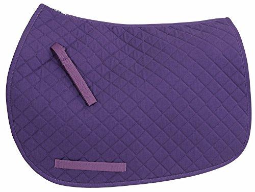 TuffRider Basic All Purpose Saddle Pad Purple