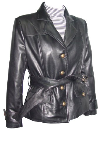 Nettailor 4195 Fitted Clean Blazer Jackets Womens with Belt Business Clothing by NETTAILOR (Image #7)