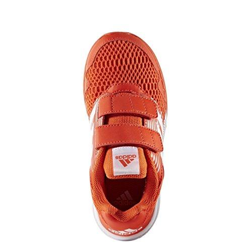 adidas AltaRun CF K - Zapatillas de deportepara niños, Naranja - (ENERGI/FTWBLA/PLAMET), 29