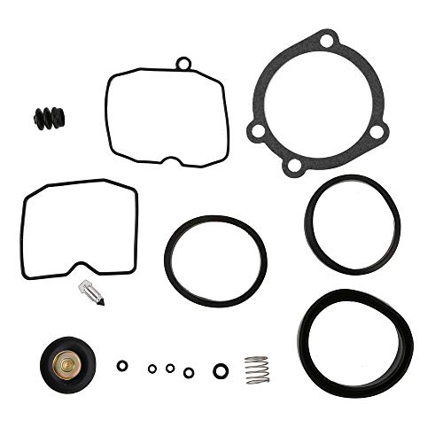 (CQYD New Carburetor Rebuild Kit for Harley all XL883 1200 1988-2006 and Big Twin 1988-2006 using CV carbs 20709)