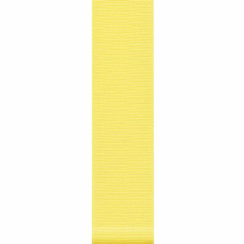 Offray Grosgrain Craft Ribbon, 3/8-Inch x 18-Feet, Baby Maize