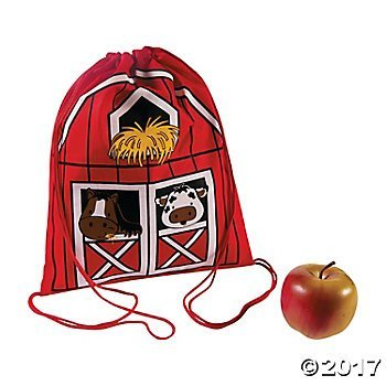 Fun Express Drawstring Backpacks (Set of 12) -