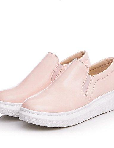 Tacón 5 5 5 negro Semicuero Mocasines Exterior Pink Zapatos Zq Cn43 Deporte Comfort us10 Trabajo Y De Oficina Mujer Uk3 5 Plano Uk8 Cn35 Eu42 us5 Casual Pink Redonda Punta Eu36 BZtZCqa
