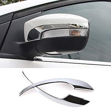 For Honda Accord 2018 2Pcs ABS Chrome Car Side Mirror Cover Molding Trim Decor !