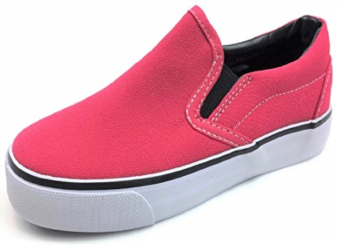 n Canvas Sneaker Tennis Shoes, Pink, 9 Toddler ()