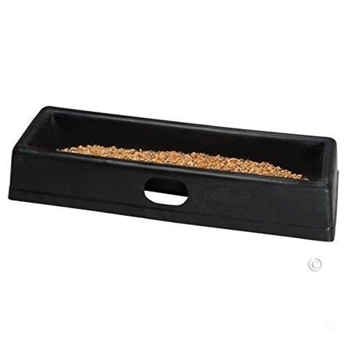 PortaTrough 3 - Portable Feed/Water Trough - 34'' L x 12.25'' W x 5.25'' D (Base) by Premier 1 Supplies
