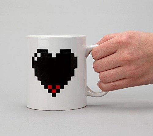 Belletime Heart Coffee Mug For Coffee Milk Juice or Tea - Bit Heart 8