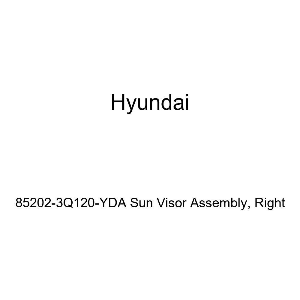 Right Genuine Hyundai 85202-3Q120-YDA Sun Visor Assembly