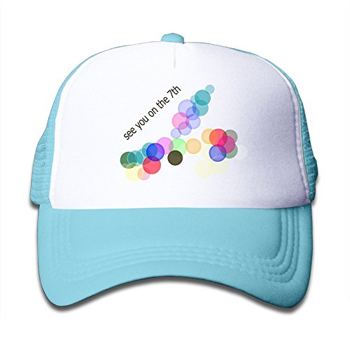 Price comparison product image Baboy See You On The 7th Youth Trucker Hat Sports UV Protect SkyBlue