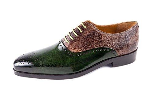 amp; 439 Vert Vert Chaussures pour de Hamilton EU Ville Melvin Lacets MH15 Homme à 41 gSTqdtZw