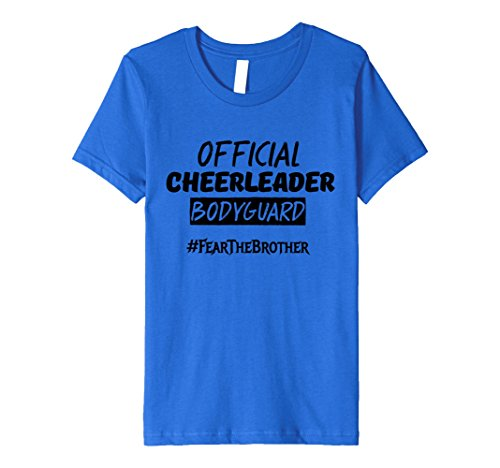 Kids Hilarious Gorgeous Cheerleaders Girl Outfit for her Brother 10 Royal Blue (Blue And Yellow Cheerleader Outfit)