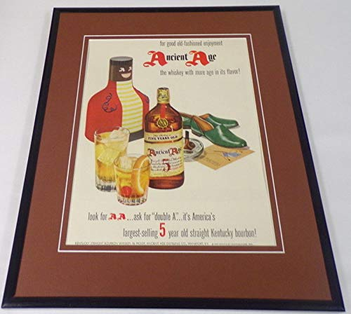 1951 Ancient Ale Bourbon Framed 11x14 ORIGINAL Vintage Advertisement ()