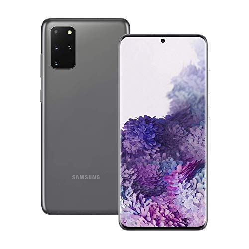 Samsung Galaxy S20+ 5G 128GB – Cosmic Grey – Unlocked (Renewed)