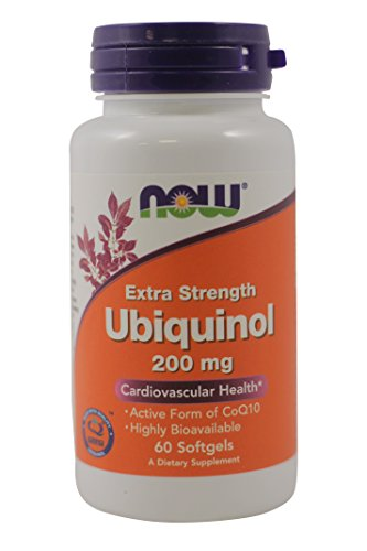 Ubiquinol Extra Strength 200 mg - 60 Softgels by NOW