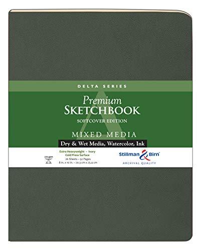 Stillman & Birn Delta Series Softcover Sketchbook, 8
