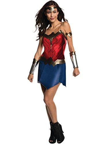 Rubie's Women's Batman v Superman: Dawn of Justice Wonder Woman Costume, Multi, -