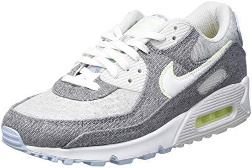 Nike AIR MAX 90 NRG, Men's Running Shoe, Vast Grey/White-Barely ...