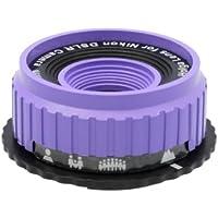 Holga Lens for Nikon D800E D800 D700 D600 D300S D300 D200 D100 Violet