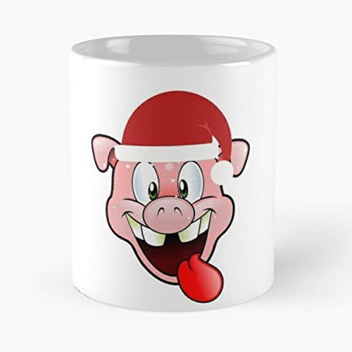 Pig Lover Gift Merry Christmas Ugly Sweater T Shirt - Best Gift Coffee Mugs 11 Oz Father Day