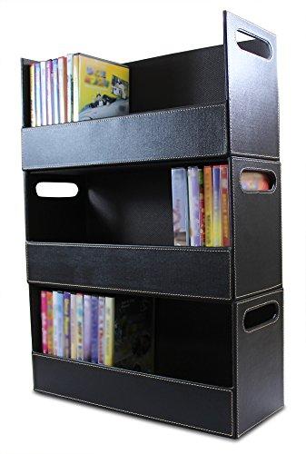 Chocolate Stacking Dvd Storage Organizer Amp Movie Media