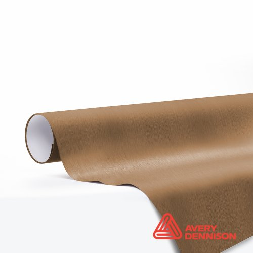 30 Foot Bronze - Avery Supreme Wrapping Film Brushed Bronze Vinyl Car Wrap Sheet - SW900 - 30ft x 5ft (150 sq/ft) (360