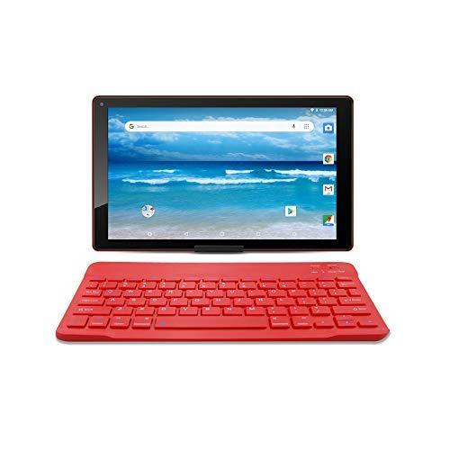 【激安アウトレット!】 Azpen A1046B Oreo 10.1インチ Azpen Android 8.1 Oreo タブレット Google認定 Bluetoothキーボードスリーブとスタンド付き Android レッド A1046B レッド B07NJ8VV29, 宝石時計メガネ 中村:fa67d706 --- senas.4x4.lt