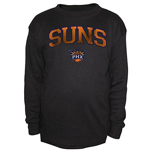 NBA Phoenix Suns Youth Thermal Tee, Medium, Black