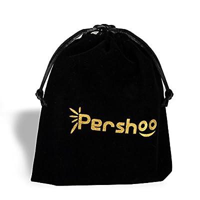 Women Short Wallet, Pershoo Kiss-lock Purse Cute Billfold Mini Handbag+Gift Bag