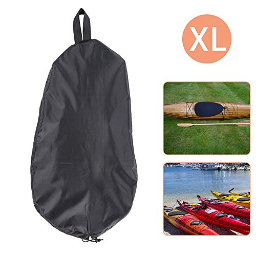 (Linkhood Breathable Adjustable UV50+ Blocking Kayak Cockpit Cover Seal Cockpit Protector Ocean Cockpit Cover (XL))