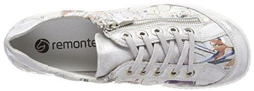 Scarpe ice R1402 Da Ginnastica Multicolore metallic Basse Donna Remonte offwhite q50BwxO